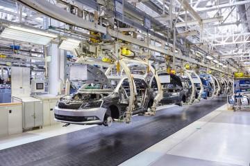 Příkladem české firmy se zahraniční matkou, kde Průmysl 4.0 tzv. v plném proudu, je mladoboleslavská Škoda Auto, a. s.