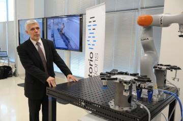 Ing. Pavel Burget, Ph.D., vedoucí Testbedu pro Průmysl 4.0 Českého institutu informatiky, robotiky a kybernetiky.