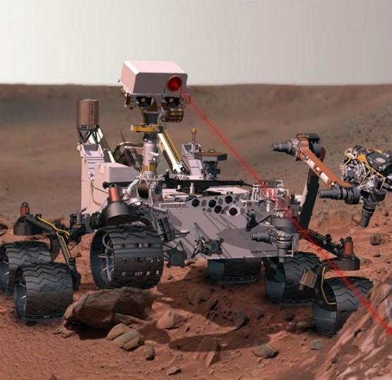 Technologie použité při výrobě modelu Ghilbi se uplatnily i při sestrojení vozítka Curiosity, které se prohání po planetě Mars.