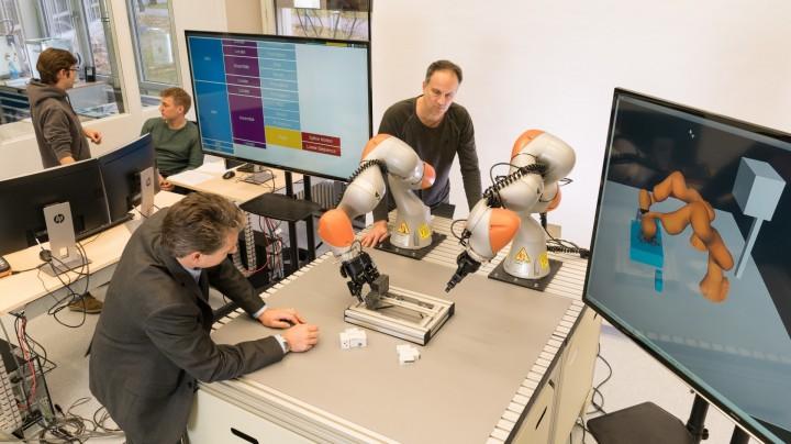 Velkou výzvou je ukázat, že se nasazení robotů vyplatí i ve výrobě šarží velikosti 1.