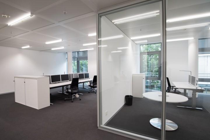 Nový komplex kanceláří v centru Mnichova poskytuje moderní a inspirativní zázemí pro cca 1 200 zaměstnanců.