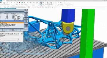 Díky softwaru od společnosti Siemens bylo vše až do nejmenšího detailu, dříve než se to začalo tisknout, vyvíjeno a testováno ve virtuální realitě.