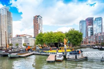 Část Rotterdamu propojí chytrá síť