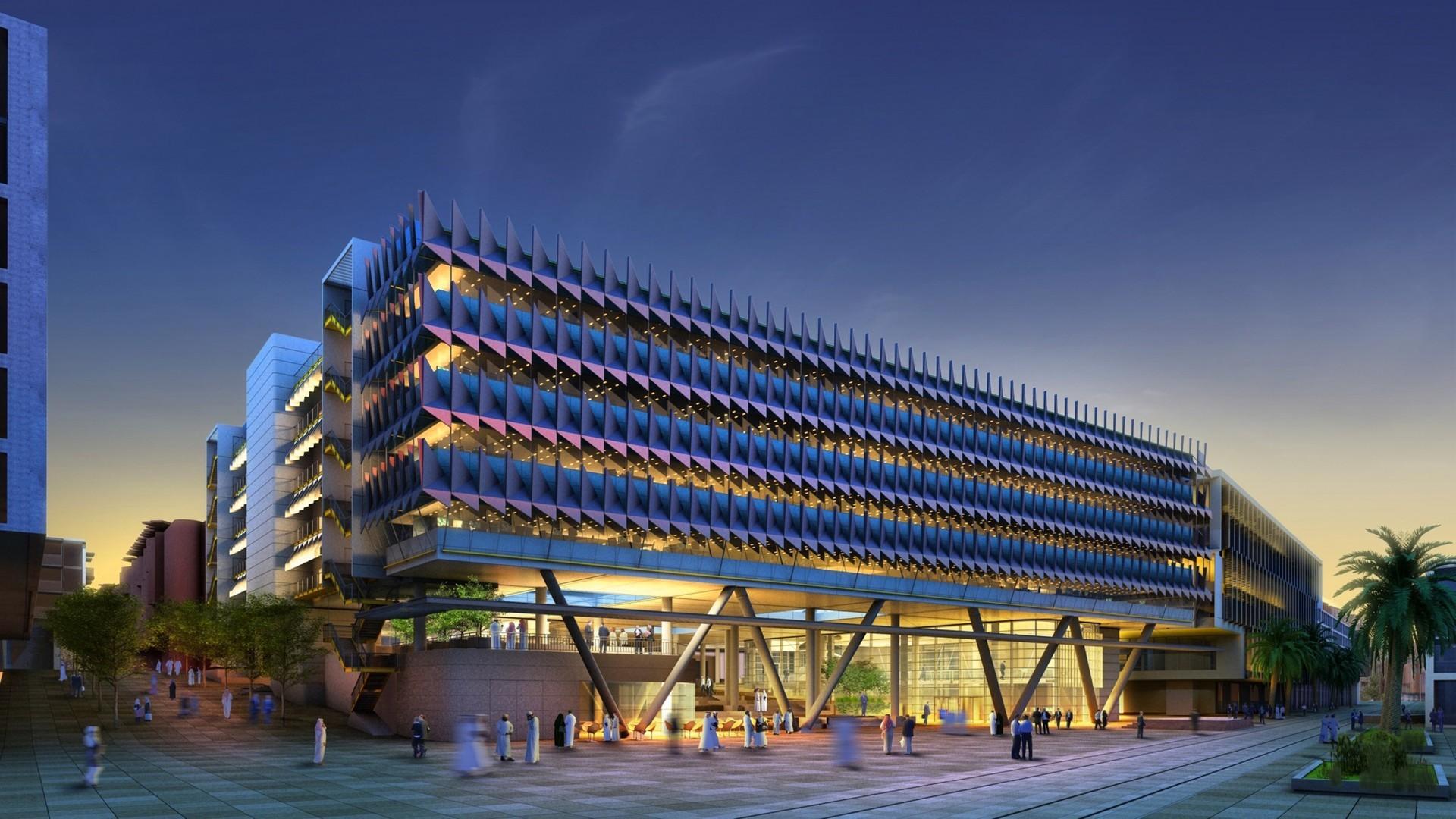 Budova Siemens v Abú Zabí; foto: Sheppard Robson
